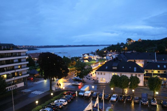 Radisson Blu Caledonien Hotel, Kristiansand: View from room 608