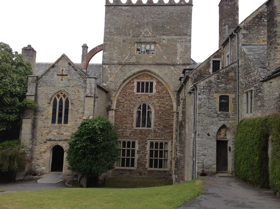 Buckland Abbey: The entrance to the Abbey