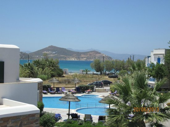 Hotel Spiros: View from our balcony