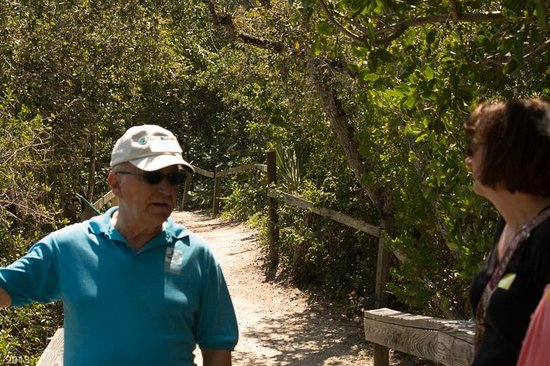 Florida Oceanographic Coastal Center: Ned on the nature trail