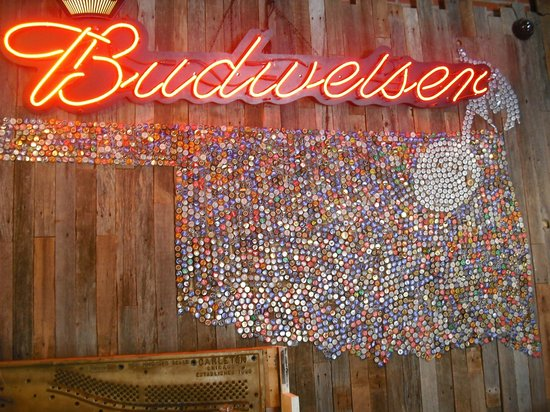 Back Alley Blues & BBQ: Wall sign