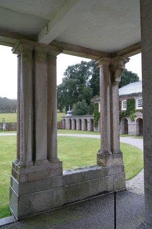 Antony House: From the entrance