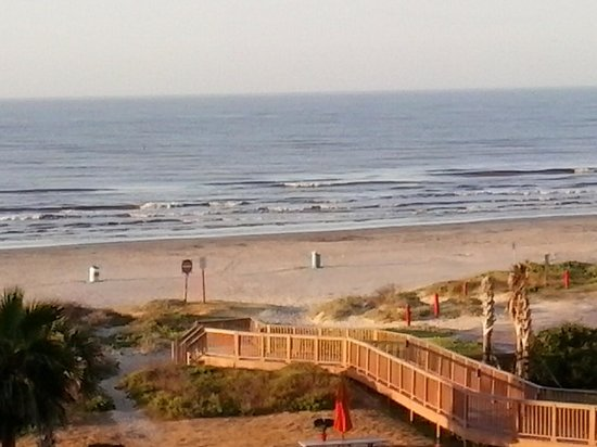 Holiday Inn Club Vacations Galveston Beach Resort: The view from our room