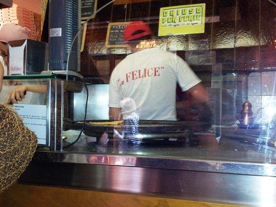 Pizzeria da Felice: da Felice