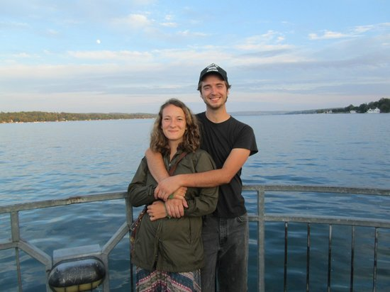 Skaneateles Lake: My nephew and his girlfriend
