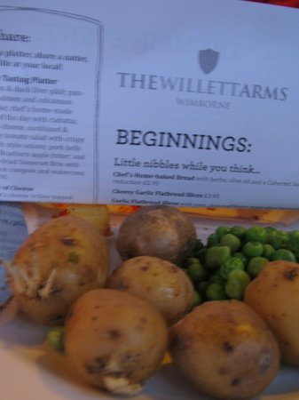 Sprouting potatoes at the Willett Arms - First batch