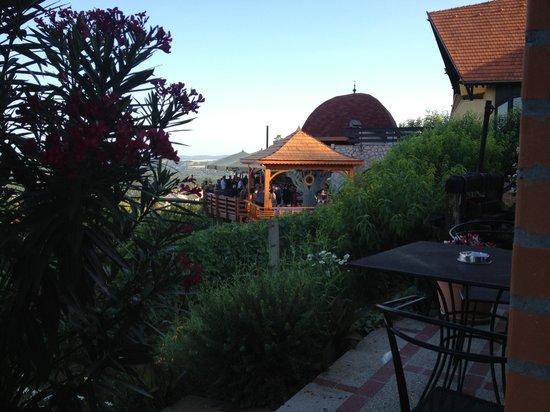 Bagolyvar Inn : Views