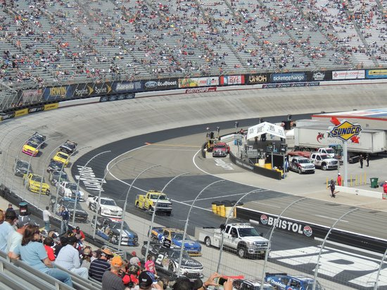 The Track Turn 2 Picture Of Bristol Motor Speedway