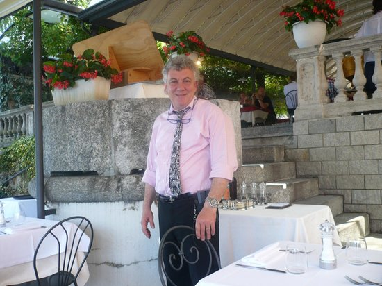 Hotel Excelsior Splendide : Perry the Maitre d'hotel in casual dress for lunch