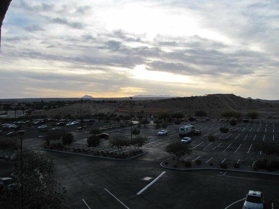 Eureka Casino Resort: view from balcony