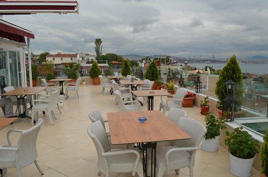 أرين سويتس: Rooftop Dining