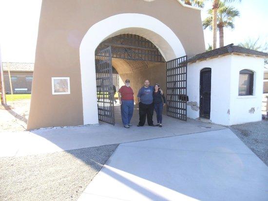 Yuma Territorial Prison State Historic Park: Entrance to Yuma Territorial Prison