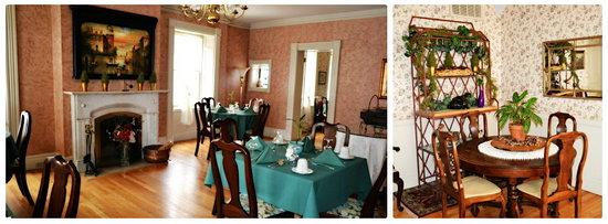 Inn at Montpelier: Dining room