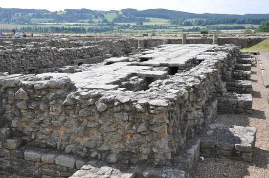 Corbridge Roman Town: Roman Fort at Corbridge