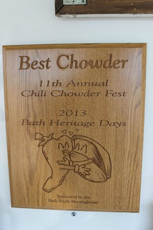 Best Chowder Award!