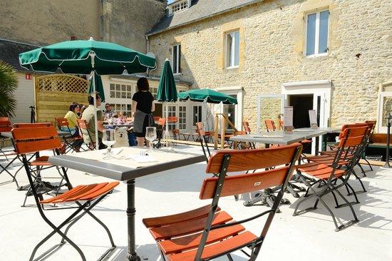 Brasserie d'en face: terrasse sud