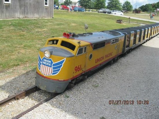 National Agricultural Center and Hall of Fame : train