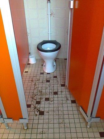 Camping Le Bordeneo : Eviter les toilettes l'après midi (et l'odeur ...)