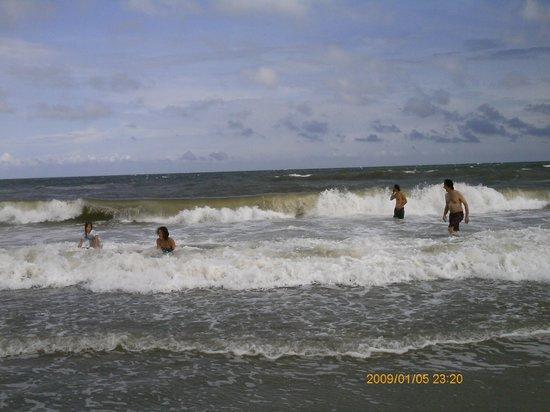 Arcadian Dunes Resort : beach