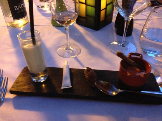 Hotel Le Vallon de Valrugues & Spa : Delicious Dinner