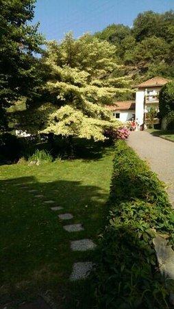 Hotel Restaurant Der Rierhof : vista dal giardino
