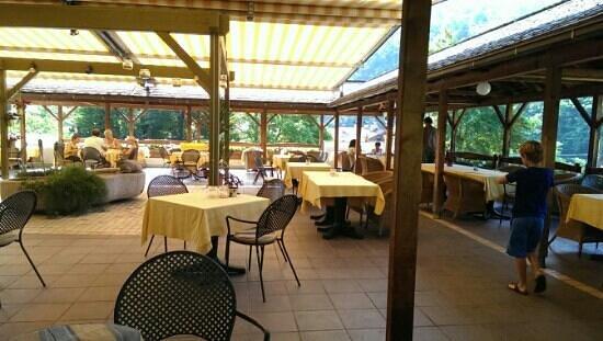 Hotel Restaurant Der Rierhof : terrazza panoramica:)