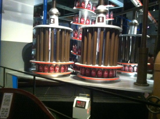 """Conveyor belt in the """"factory"""" tour - Picture of Hershey's ..."""