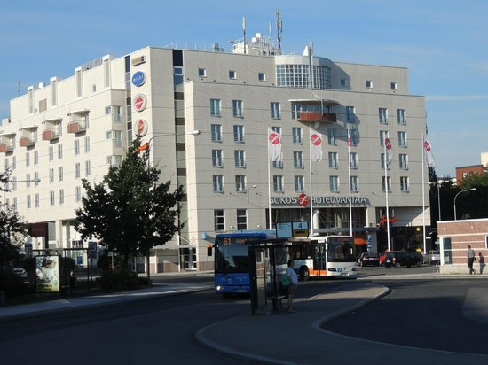 Original Sokos Hotel Vantaa: Sokos Hotel Vantaa and also the bus nro61 to airport