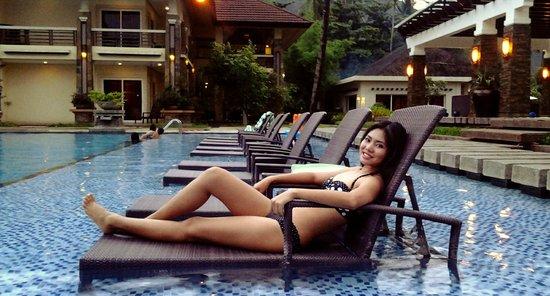 Sabang, Filipinler: pool