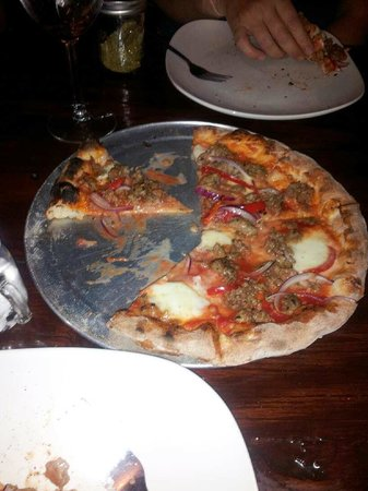 The Privateer Coal Fire Pizza: Fennel Sausage Pizza Pie