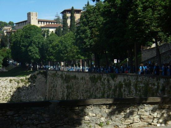La Città Alta: le antiche mura