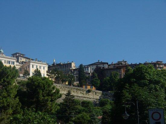 La Città Alta: vista di città alta