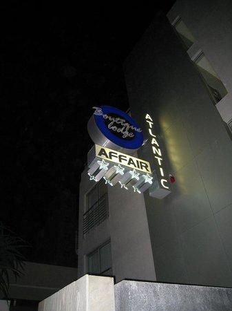 Atlantic Affair Boutique Hotel: Front