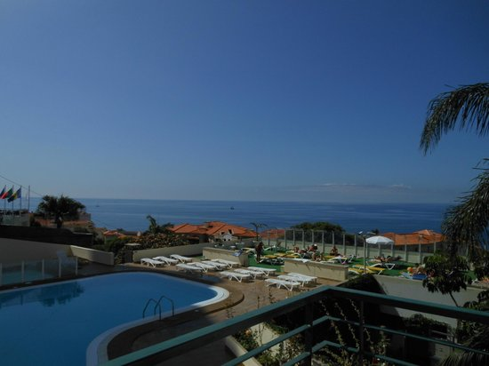 Dorisol Florasol : View from balcony of our room