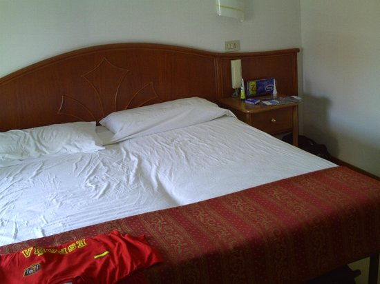 Hotel Perla: bed
