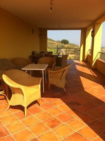 BioAgriturismo La Quercia: terrazza panoramica