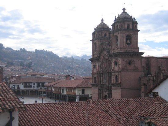 Casa Andina Classic Cusco Plaza: Cusco Plaza viewed from breakfast lounge