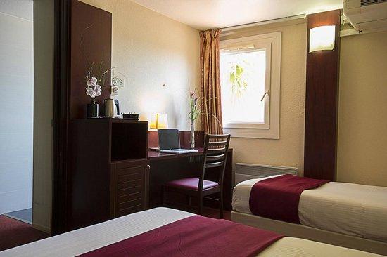 Kyriad Hotel Les 4 Pavillons - Bordeaux Lormont: Double
