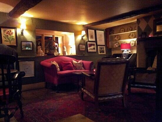 The Lamb Inn : The lounge area