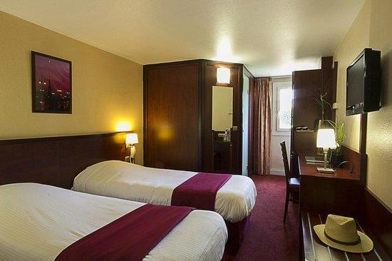 Kyriad Hotel Les 4 Pavillons - Bordeaux Lormont: twin