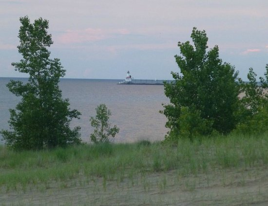 Indiana Dunes State Park: Michigan City Lighthouse