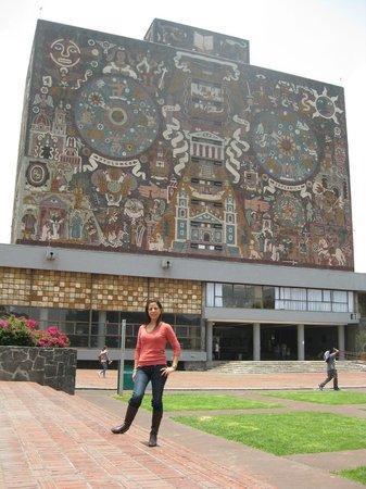 Ciudad Universitaria: la biblioteca