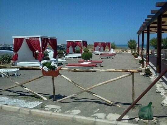 Margherita di Savoia, Italie : zona relax