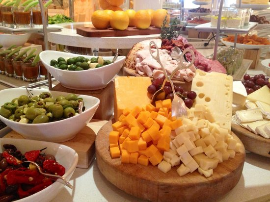 "Eau Palm Beach Resort & Spa : One small section of the ""Mediterranean"" style buffet"