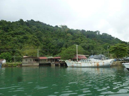 Mar y Luna: Vista desde el barco al hotel