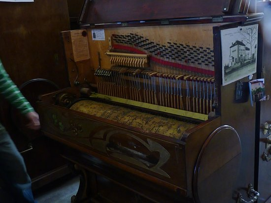 Espace de musique mecanique : piano mecanique