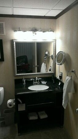 The Madison Hotel: new bathroom vanity