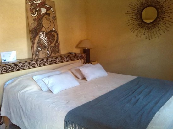 Riad Les Trois Palmiers El Bacha: chambre bahia