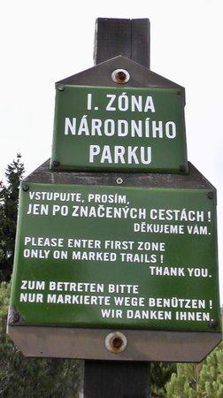 Hotel Bedrichov: National Park