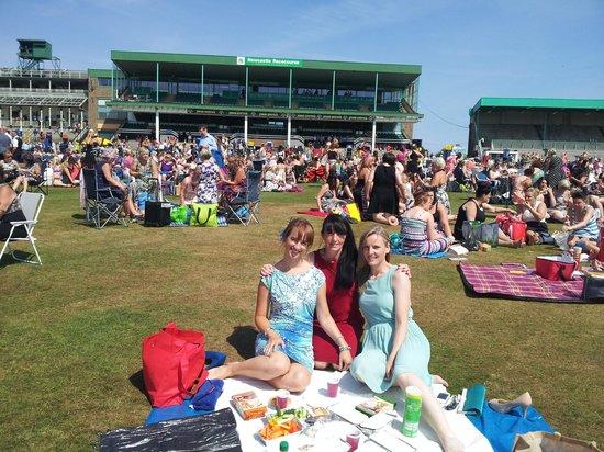 Newcastle Racecourse: ladies day 2013
